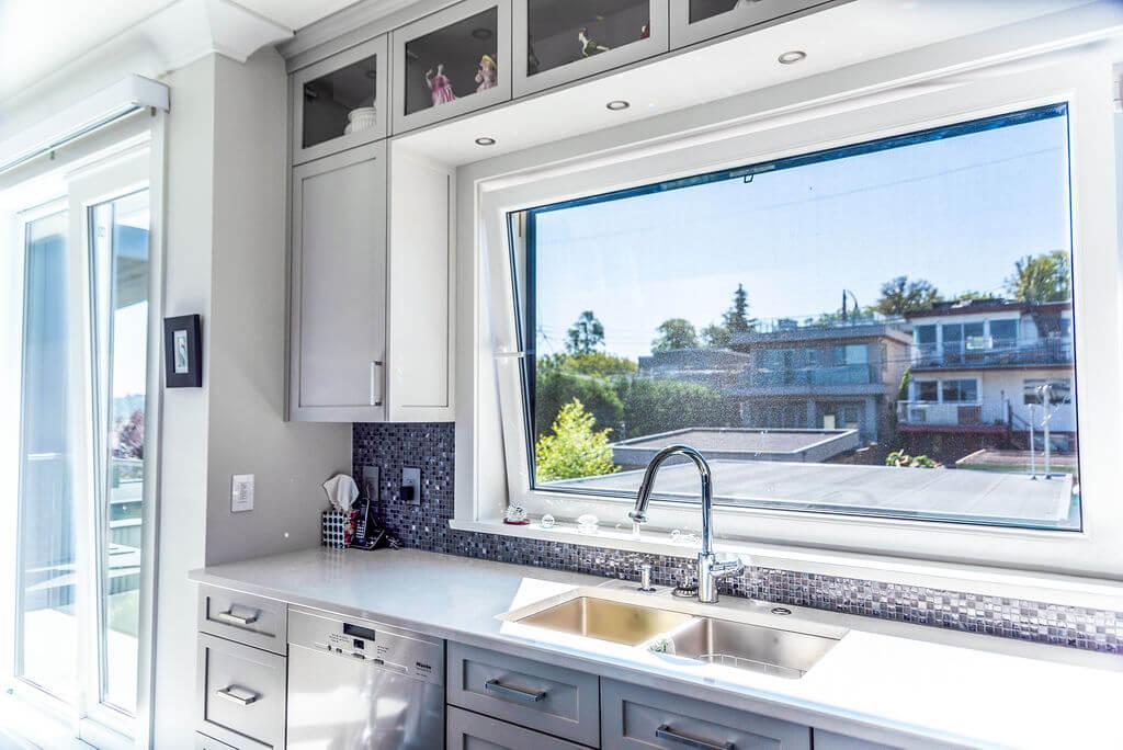 Kitchen tilt and turn window