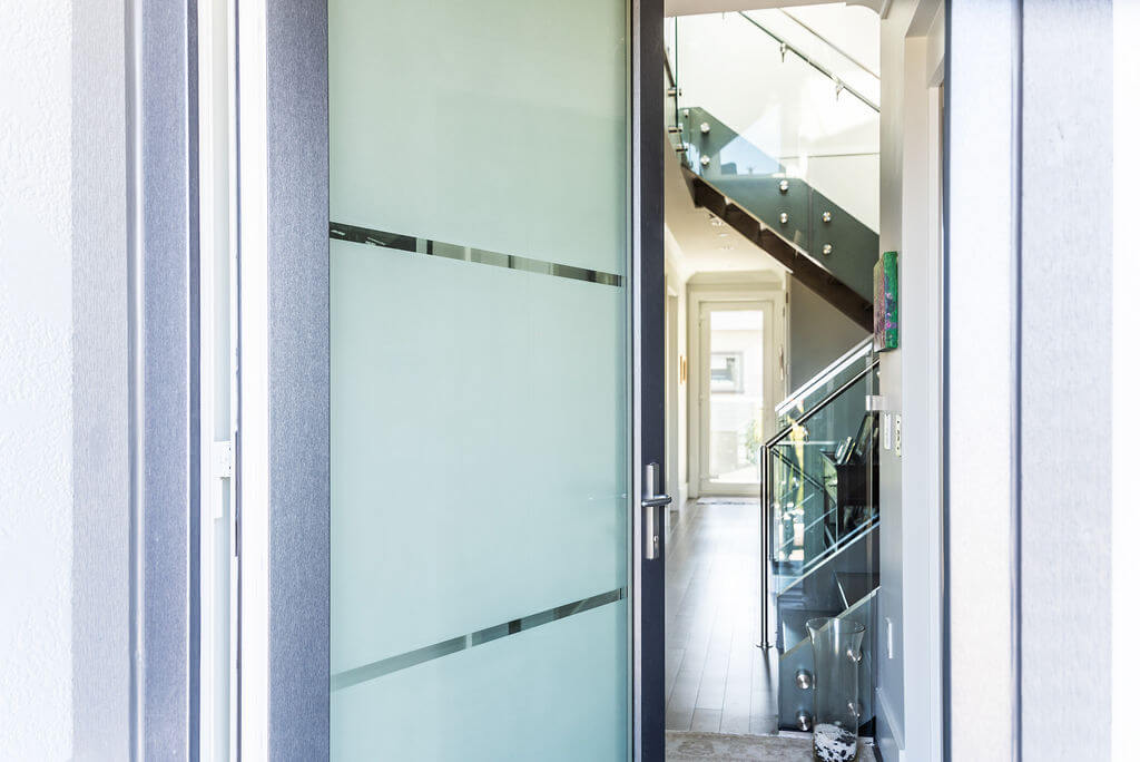 Special Glass entry door