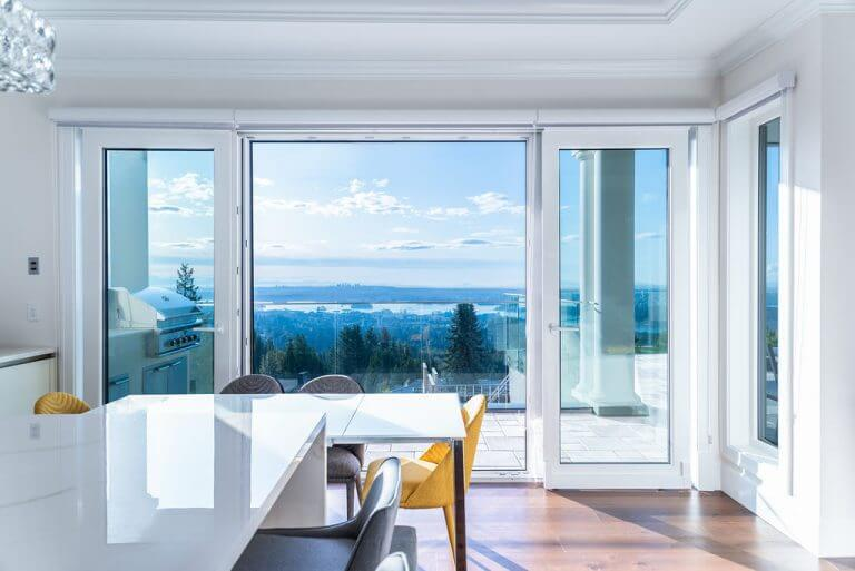 West Vancouver Project - Tilt and Turn Door Dining